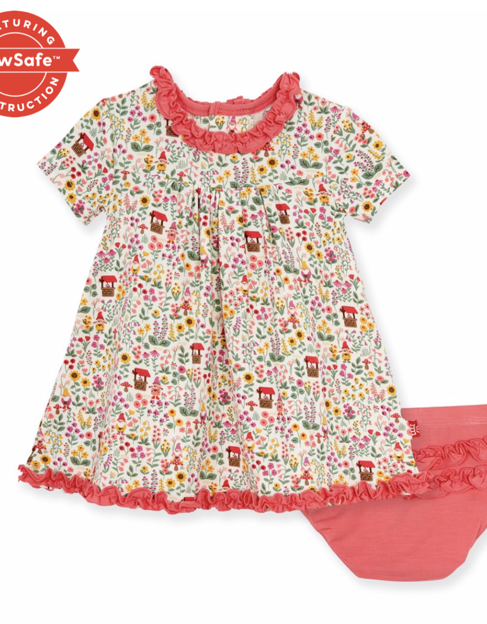 MAGNETIC ME GNOME SWEET GNOME DRESS/DIAPER COVER