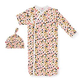 MAGNETIC ME CONFETTI GOWN & HAT NB-3M