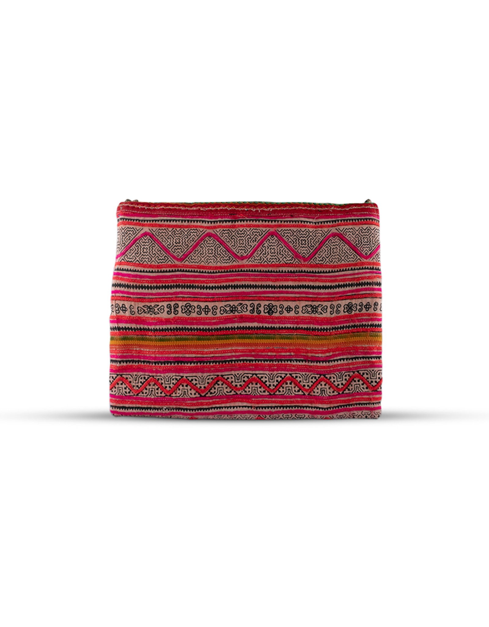 Lumily Coin & Pom Pom Vintage Envelope Clutch