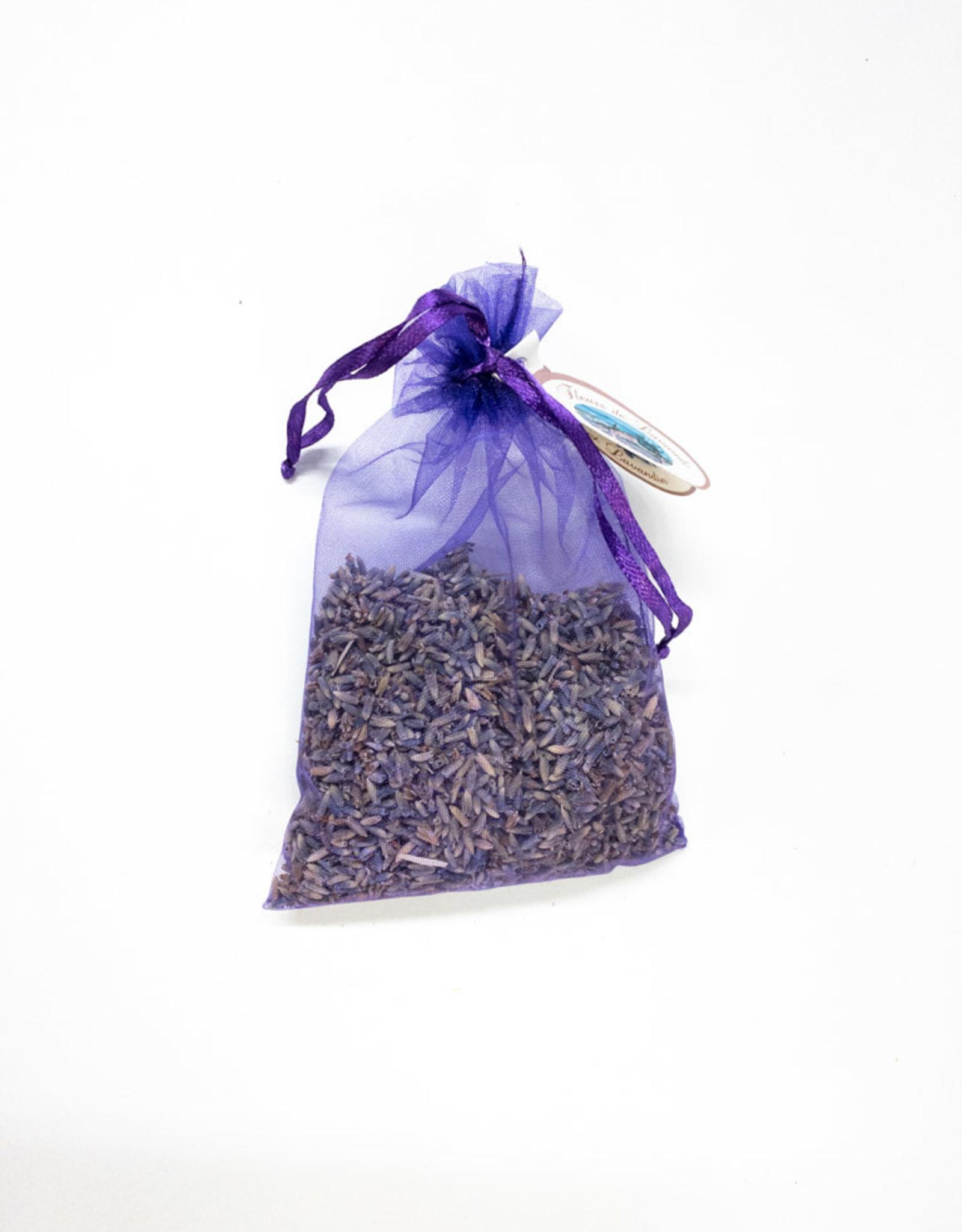 Fluers de Lavende Lavender Organza Sachet