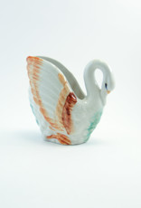 Vintage Porcelain Swan//Made in Japan