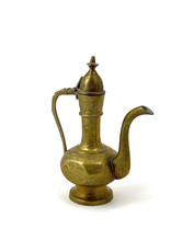 Etched Brass Sm Turkish/Indian Coffee