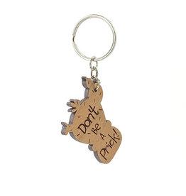 Speakeasy Trinkets Don't Be A Prick Keychain