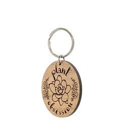Speakeasy Trinkets Plant Obsession Keychain