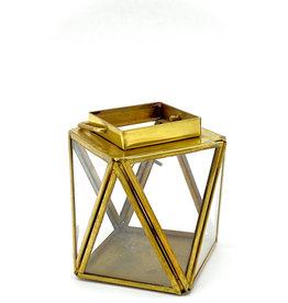 Brass Lantern/Terrarium Ctnr