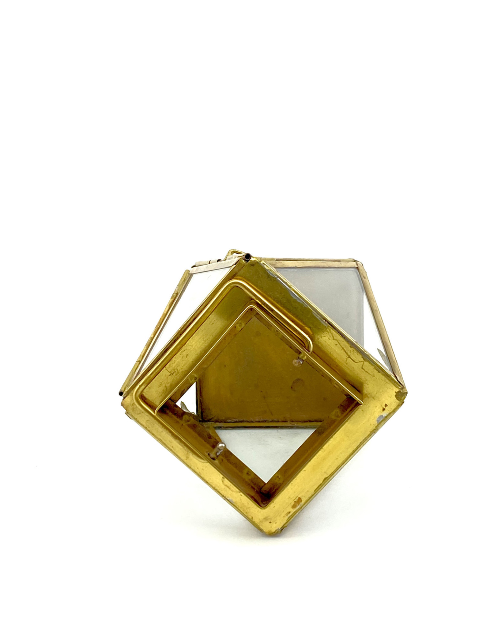 Brass Lantern/Terarium Ctnr