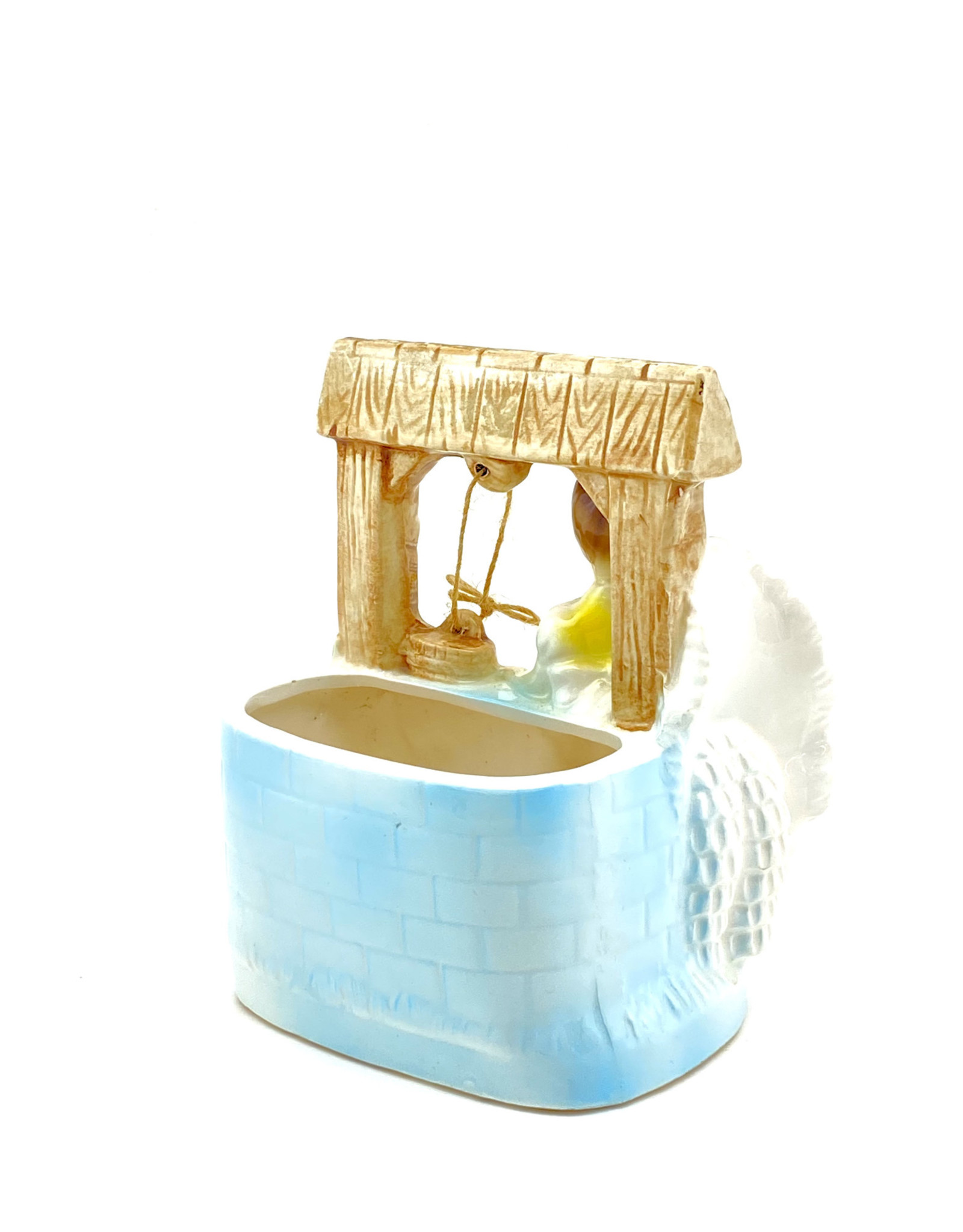 Girl/Water Well Planter