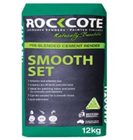 ROCKCOTE Smooth Set White 12kg