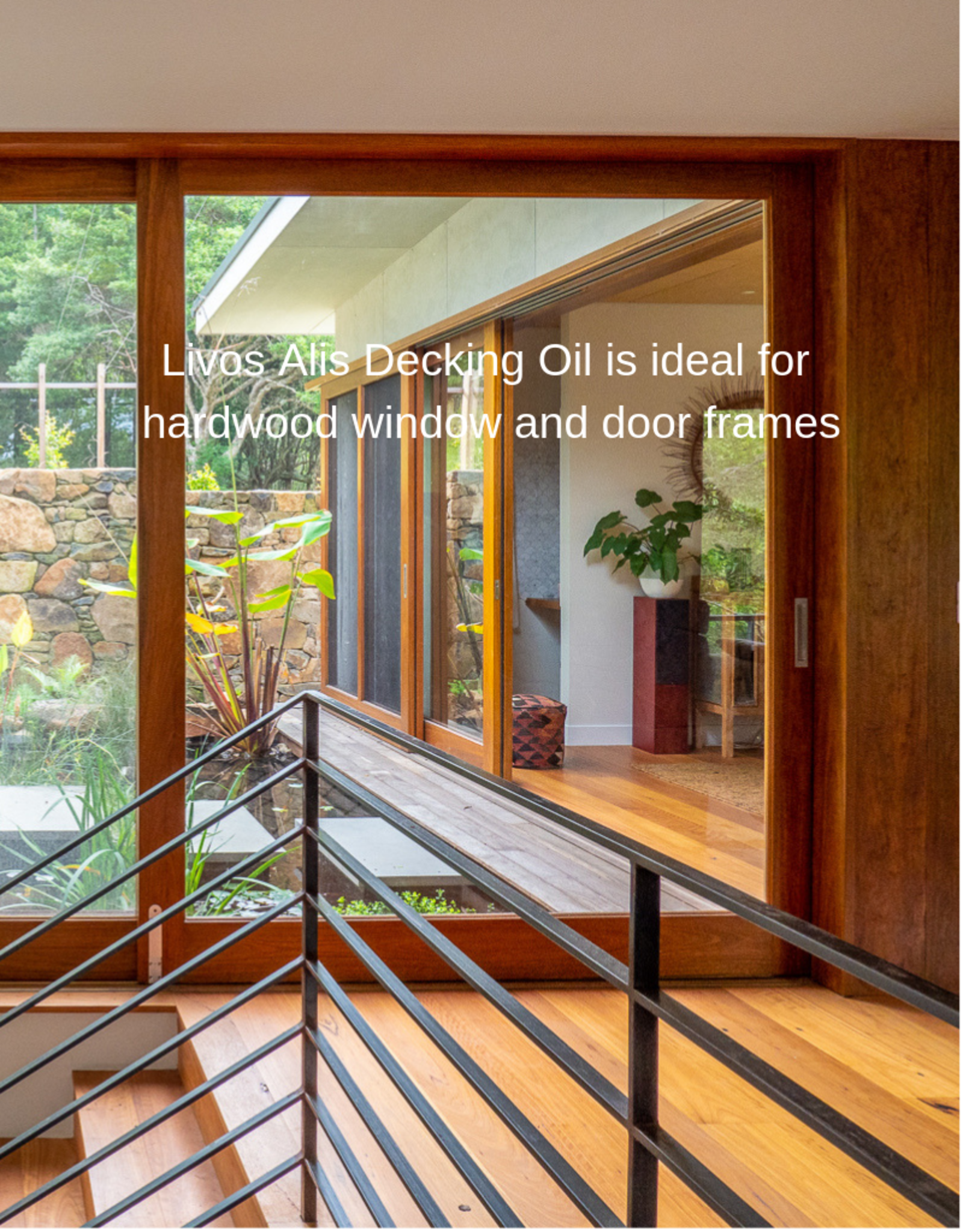 LIVOS Alis decking oil