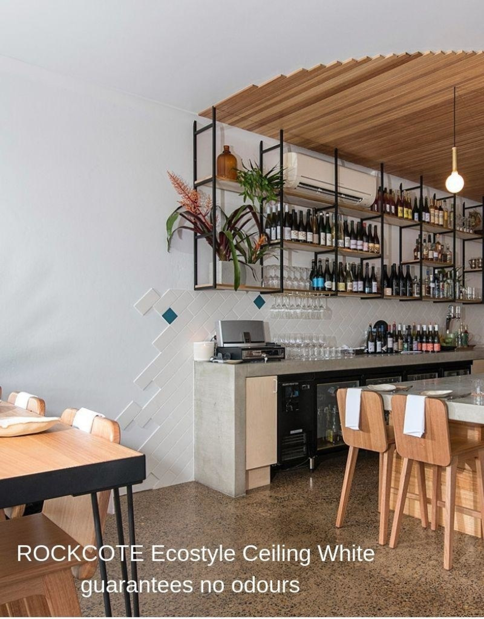 ROCKCOTE Ecostyle Ceiling White
