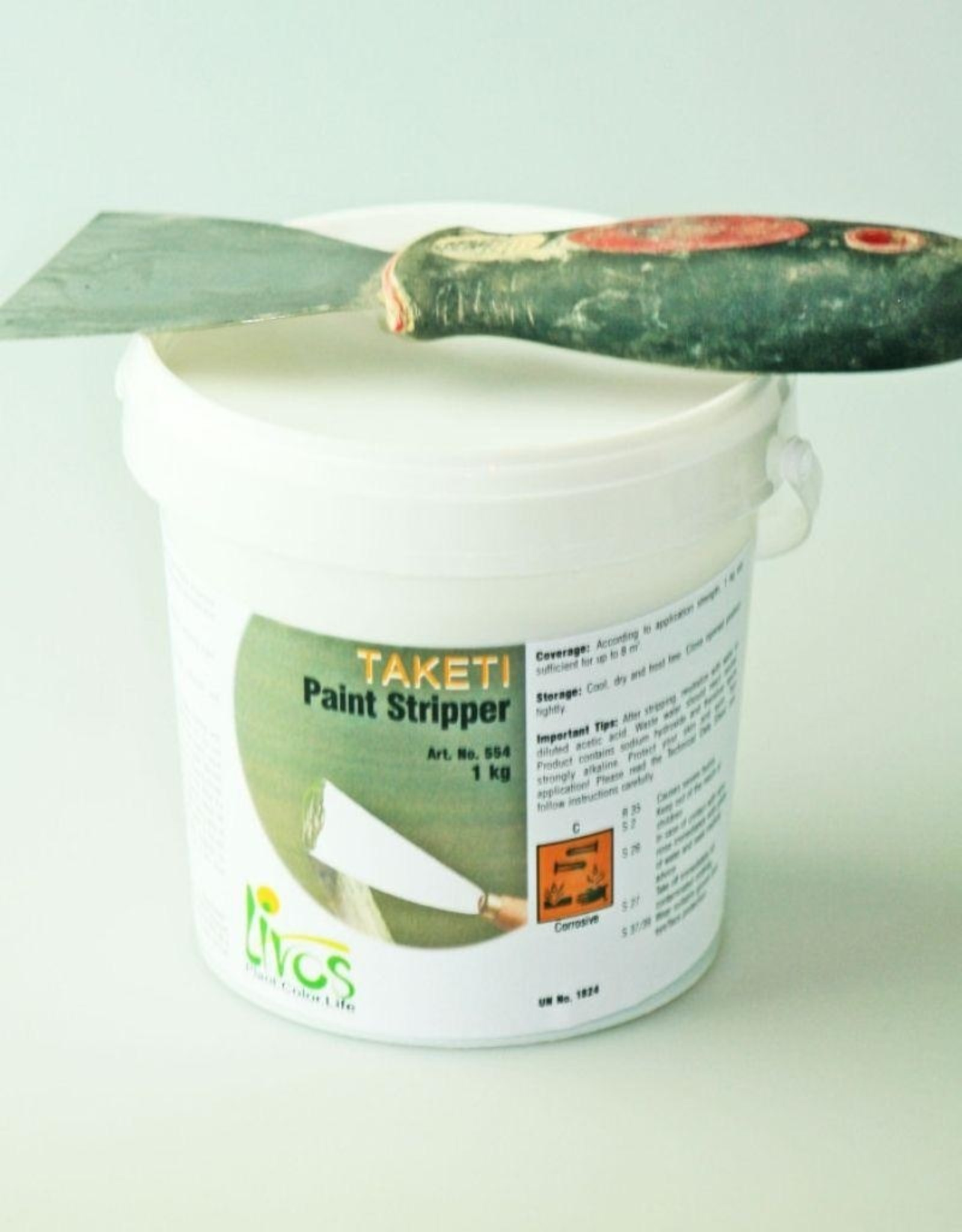LIVOS Taketi Paint Stripper 1kg