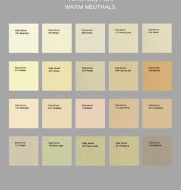VOLVOX Clay Paint WARM NEUTRALS