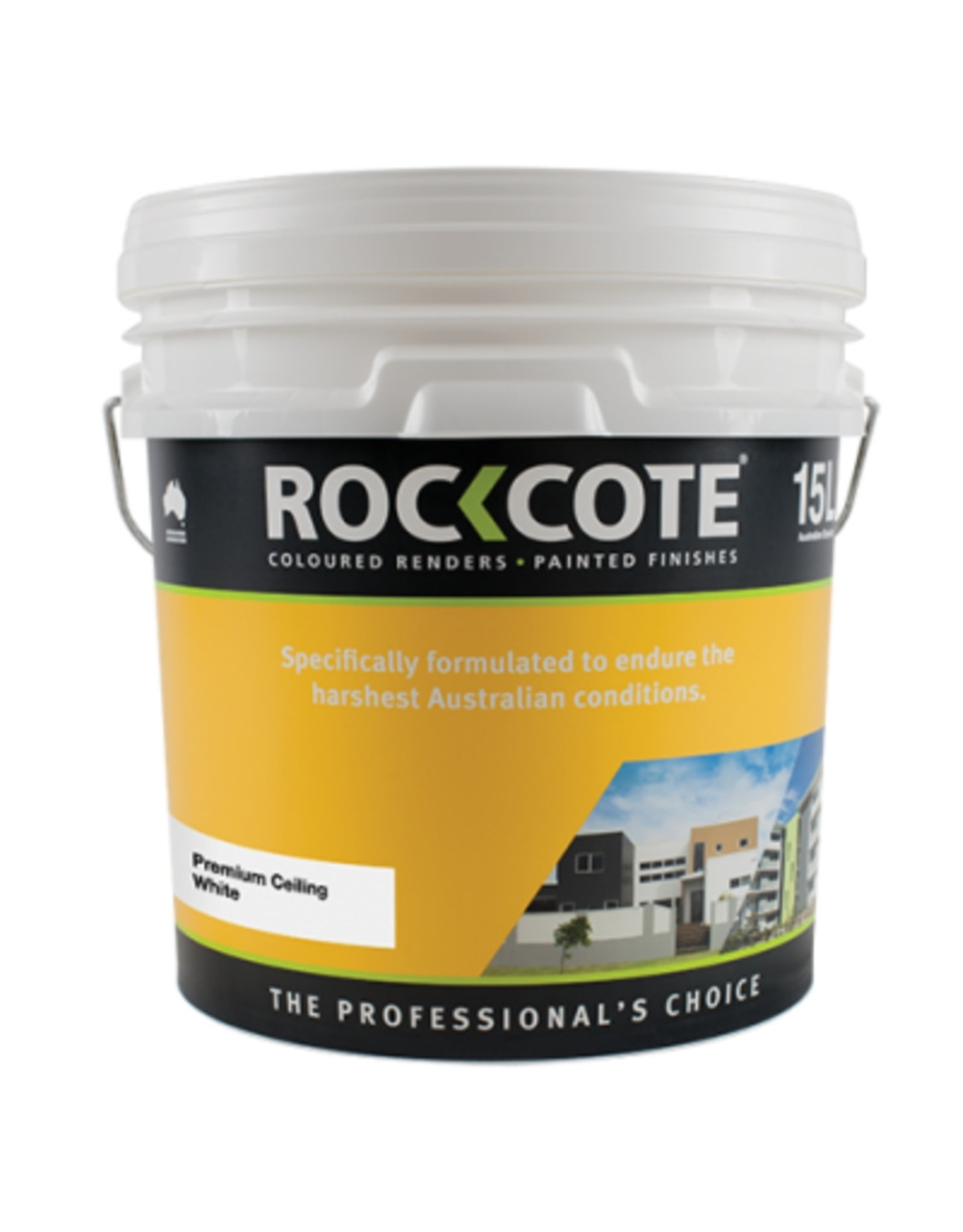 ROCKCOTE Premium Ceiling White