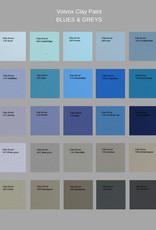 VOLVOX Clay Paint BLUES & GREYS