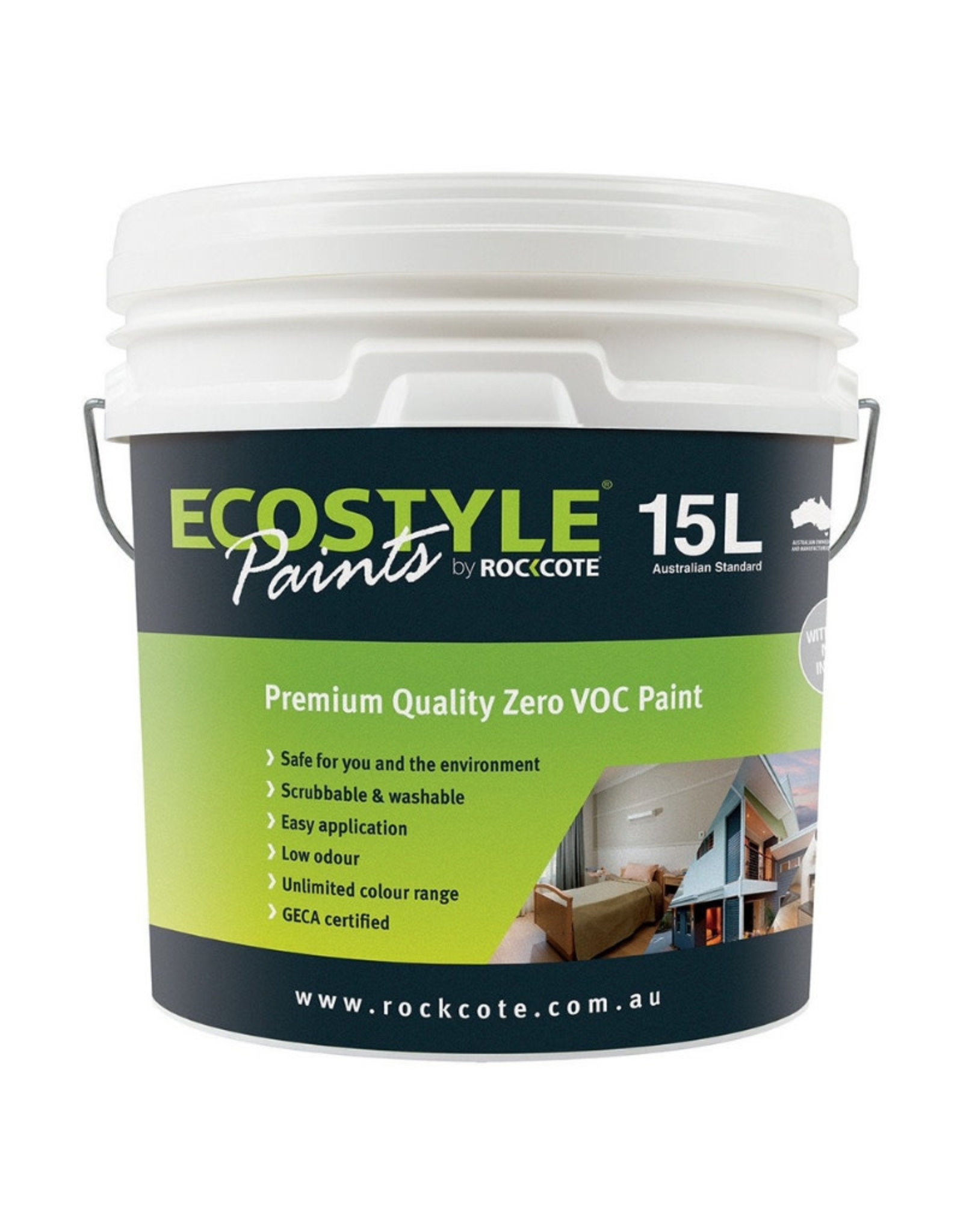 ROCKCOTE Ecostyle Low Sheen Paint