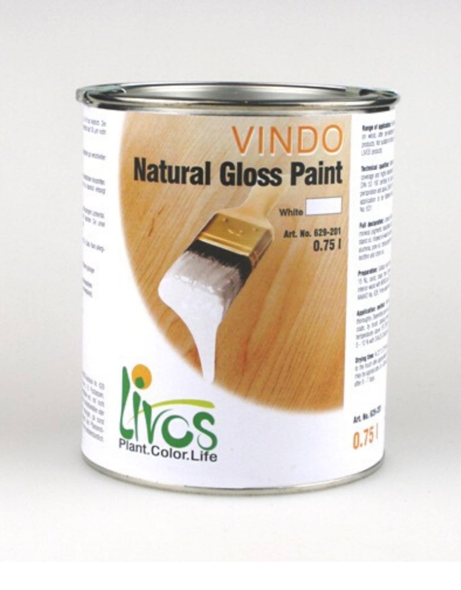 LIVOS Vindo Gloss Paint (use 500ml/10L Ardvos to retain light colour of concrete)