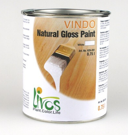 LIVOS Vindo Gloss Paint (use 500ml/10L Ardvos to retain light colour of concrete)