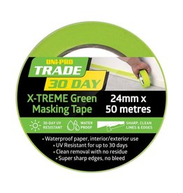 UNI-PRO 30 Day X-TREME Green Masking Tape