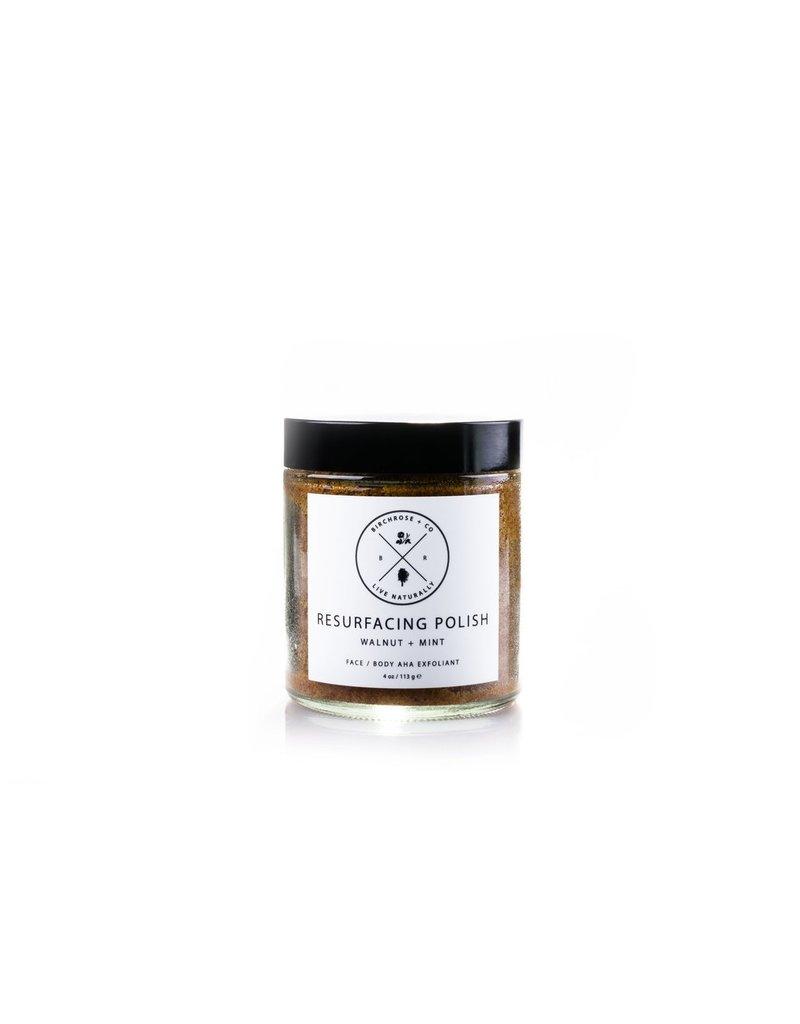 Birchrose & Co Resurfacing Polish Walnut & Mint