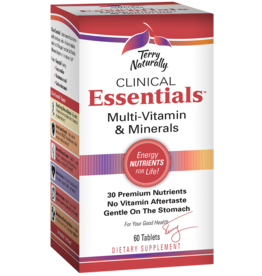 Terry Naturally Clinical Essentials Multi-Vitamin & Minerals 60ct