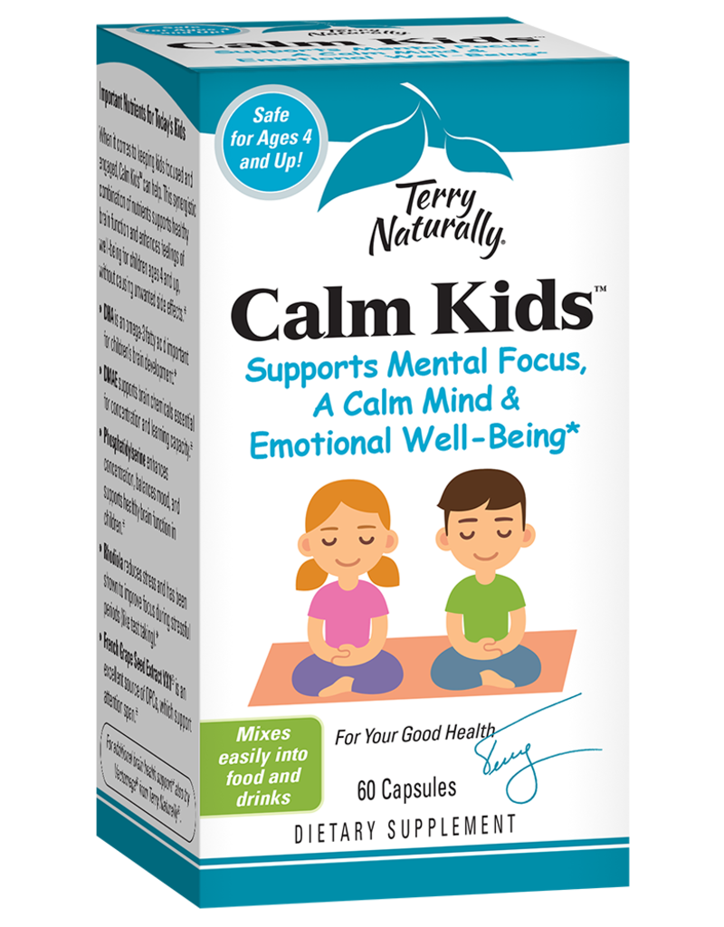 Terry Naturally Calm Kids 60ct