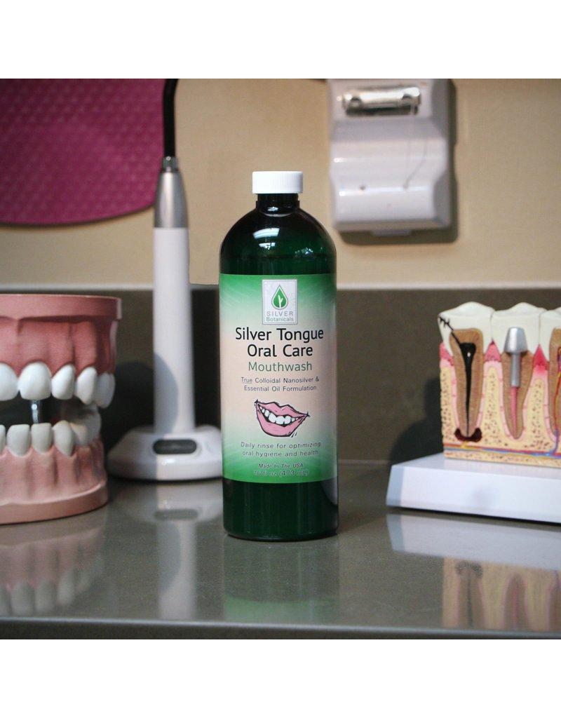Silver Botanicals Silver Tongue Oral Care, 4oz