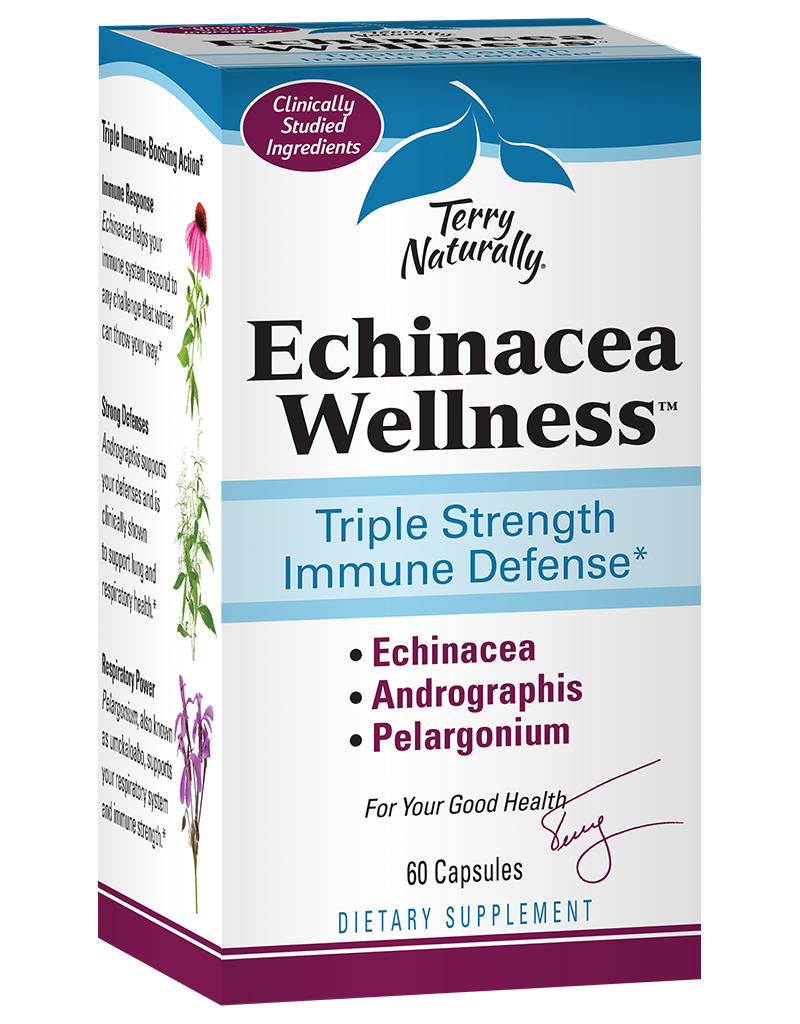 Terry Naturally Echinacea Wellness 60ct