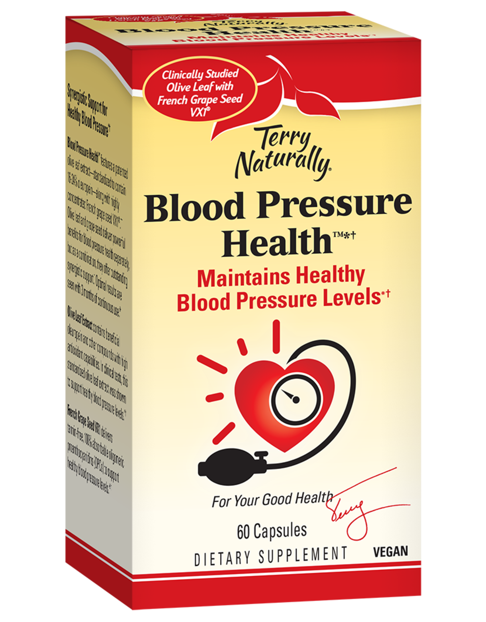 Terry Naturally Blood Pressure Health 60ct