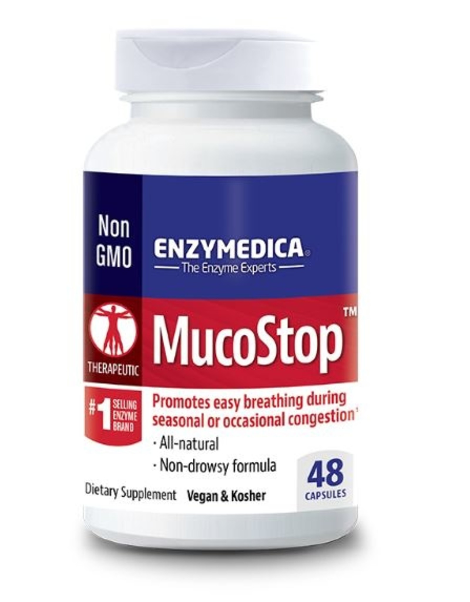 Enzymedica MucoStop (48ct)