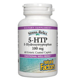Natural Factors Stress-Relax 5-HTP 100 mg Enteric 60/CAP
