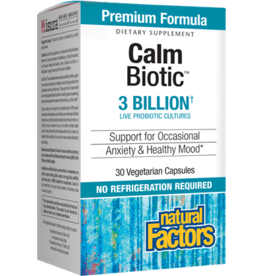 Natural Factors CalmBiotic 3 Billion 30/VCAP