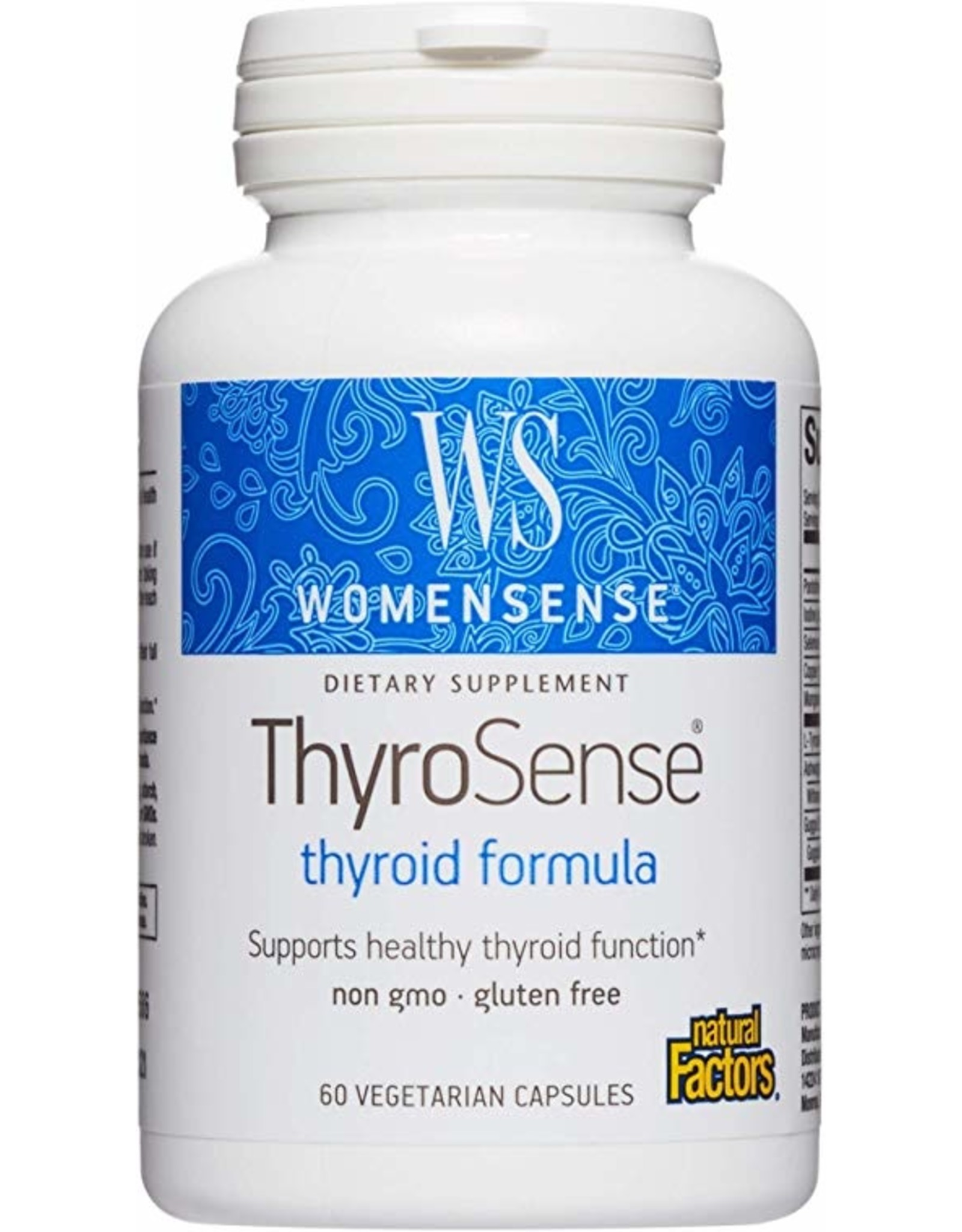 Natural Factors ThyroSense 60/VCAP