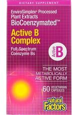 Natural Factors Vit B Active Complex BioCoenzymated 60/VCAP