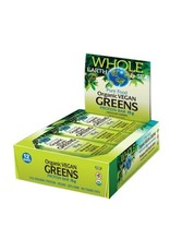 Natural Factors Whole Earth & Sea Organic Vegan Greens Protein Bars 12/BOX