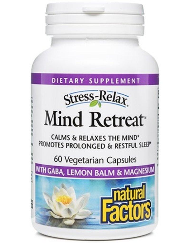 Natural Factors Stress-Relax Mind Retreat 60/VCAP