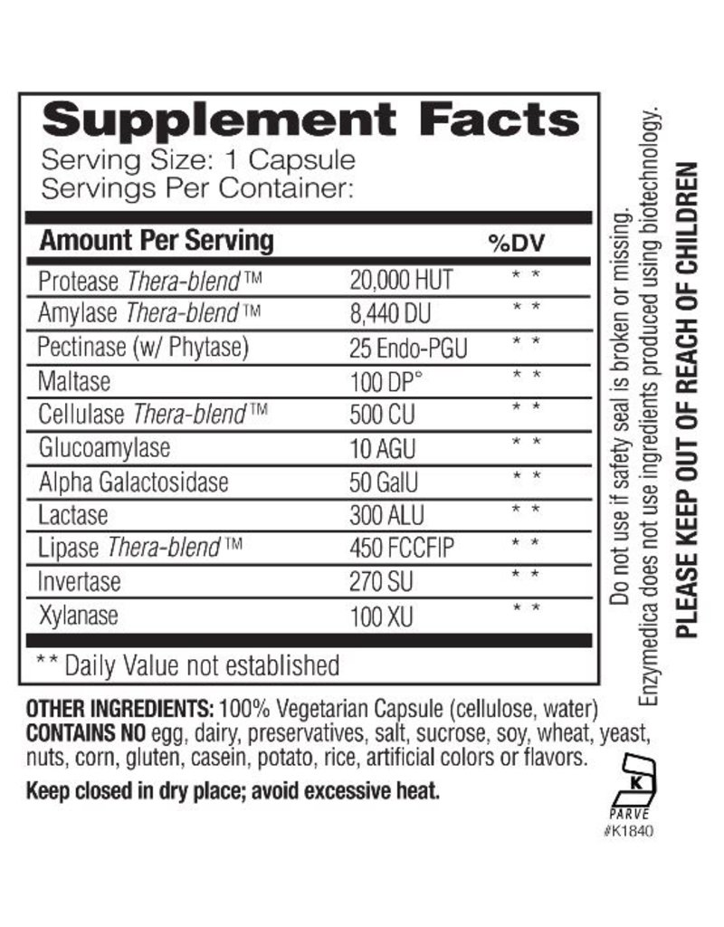 Enzymedica Digest Basic (90ct)
