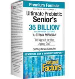 Natural Factors Ultimate Probiotic Seniors 35 Billion 30/VCAP