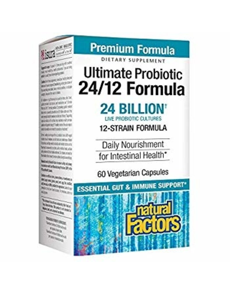 Natural Factors Ultimate Probiotic Clinical Strength 60/VCAP