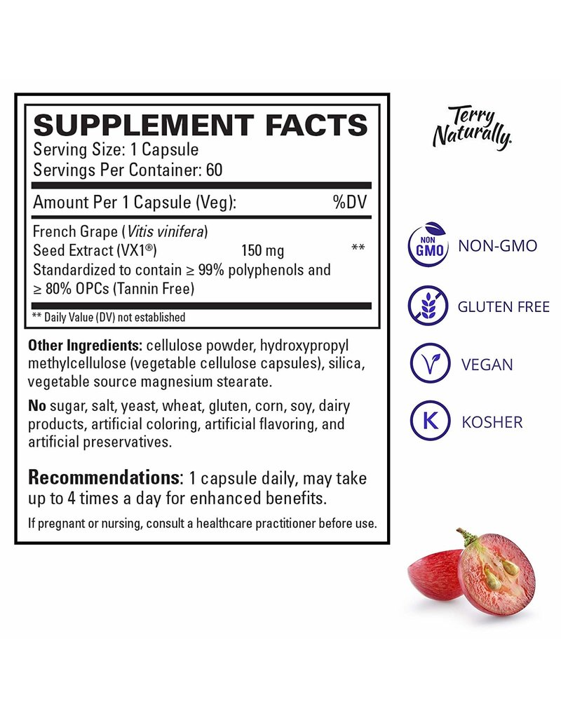 Terry Naturally Clinical OPC - 150 mg 60ct