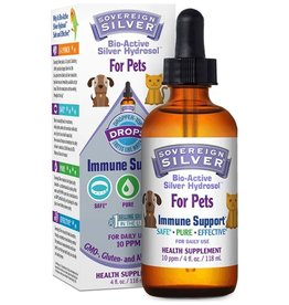 Sovereign Silver Bio-Active Silver Dropper-Top - Pets 4oz