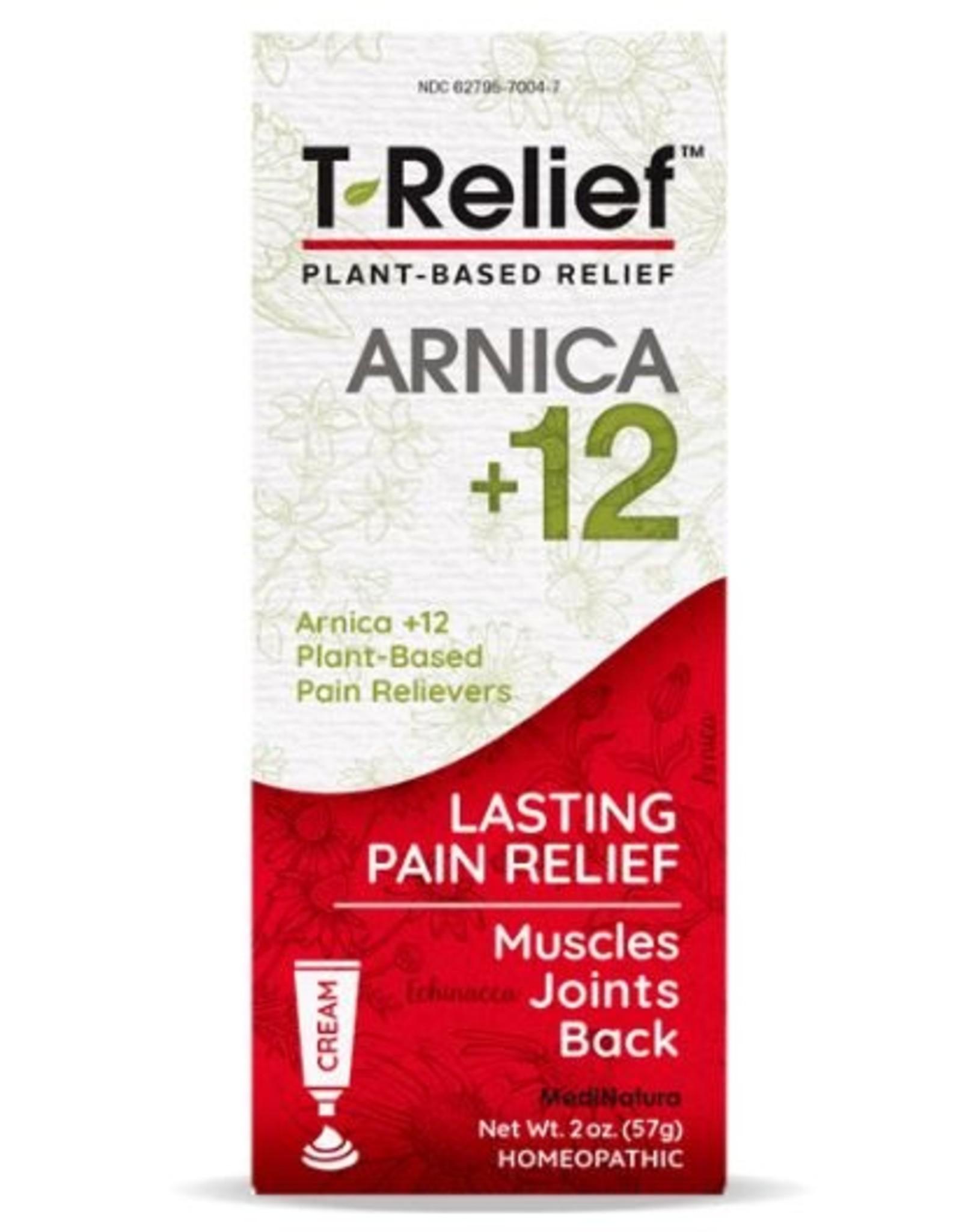 MediNatura T-Relief Pain Relief Cream (2oz)