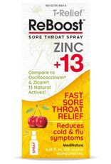 MediNatura ReBoost Zinc +13 Throat Spray - Cherry (20ml)
