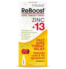 ReBoost Zinc +13 Throat Spray - Cherry (20ml)