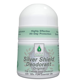 Silver Botanicals Silver Shield Deodorant, Original, Roll On 2oz