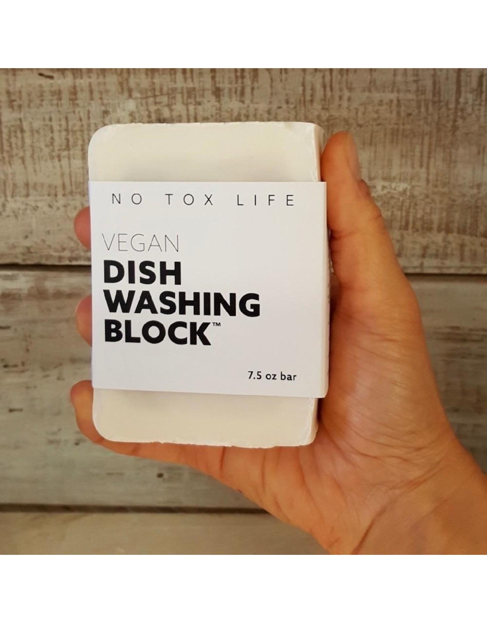 No Tox Life Zero Waste Dish Washing Block 7.5oz