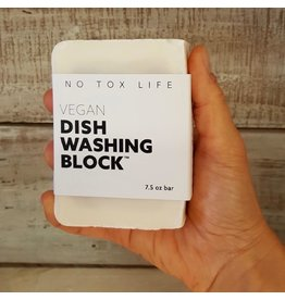 No Tox Life Zero Waste Dish Washing Block 7.5oz