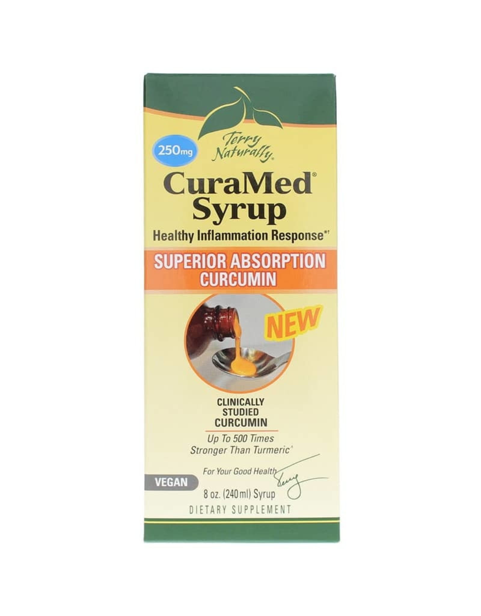 Terry Naturally CuraMed Syrup 250mg 8oz