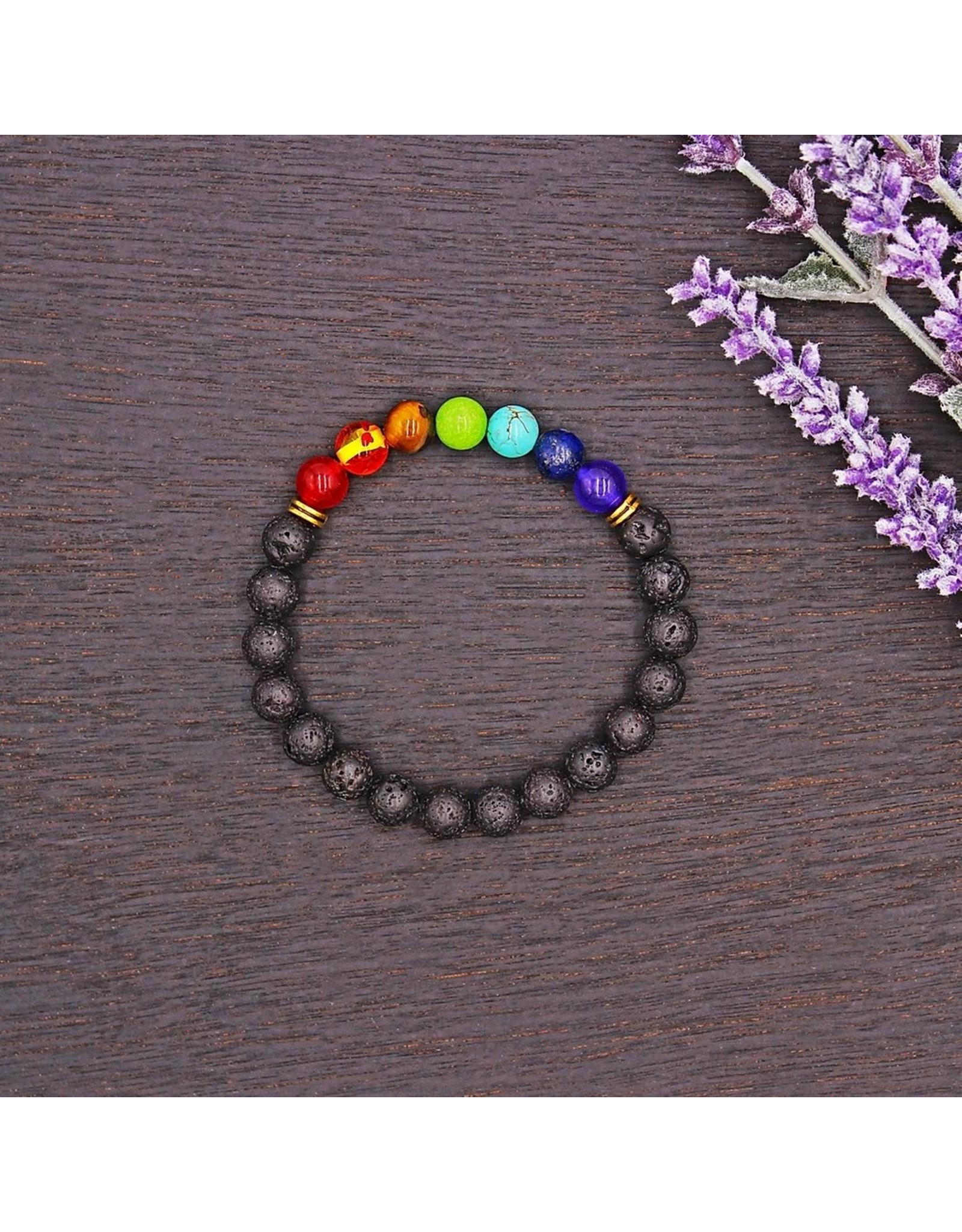 Matrix Aromatherapy Lava Bracelet - Chakra