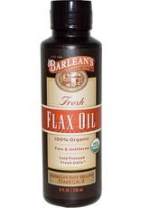 Barleans Organic Flax Oil 8oz