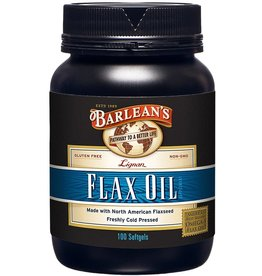 Lignan Flax Seed Oil Softgels 100ct